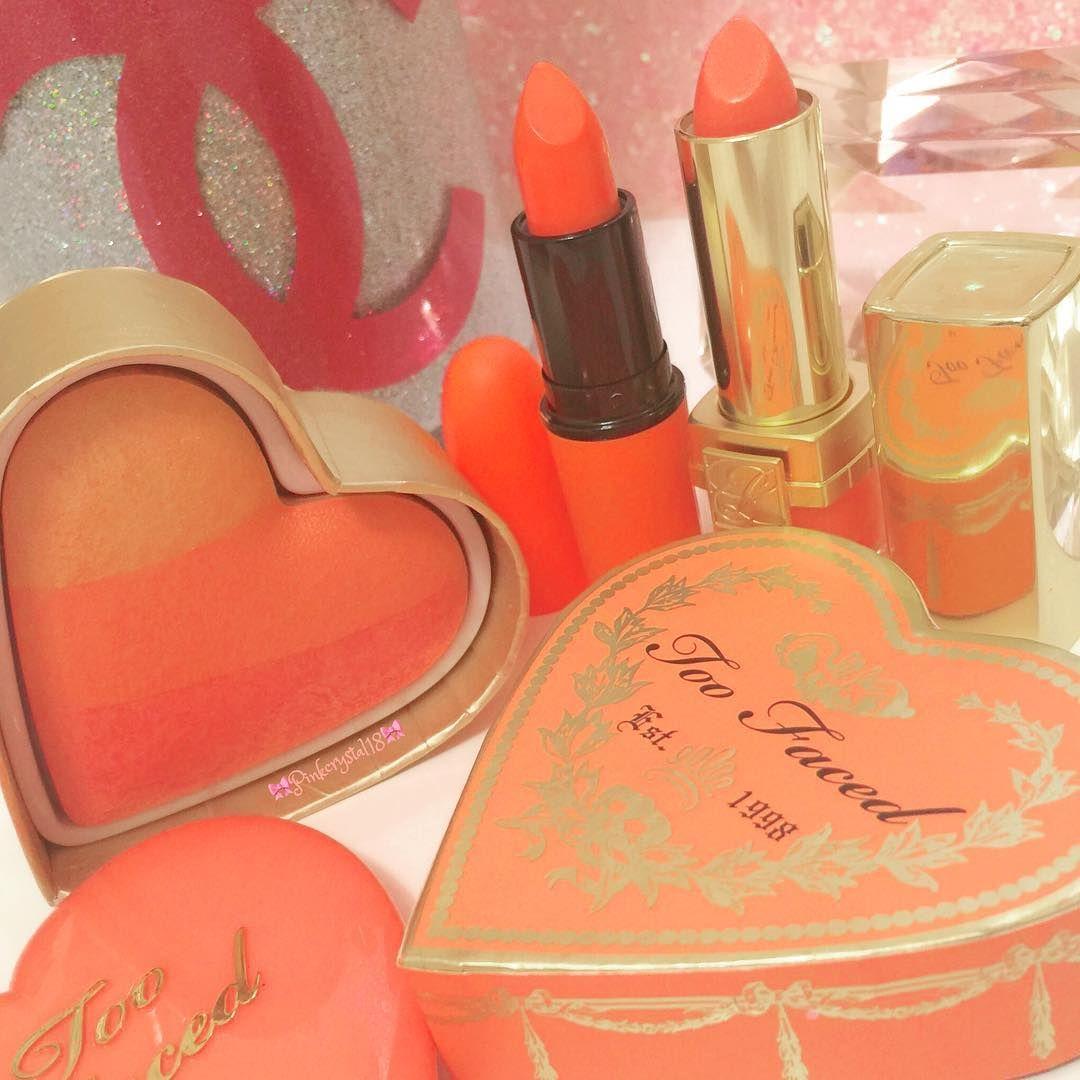 IG pinkcrystal18 makeup Peach aesthetic, Aesthetic