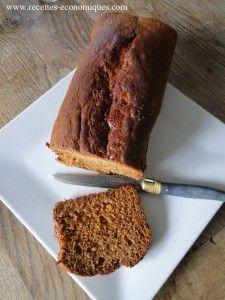 Recette de pain d'épices très légère, facile, rapide avec ou sans thermomix