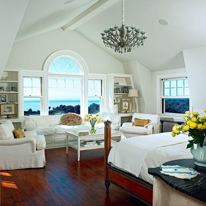 Beautiful Bedroom Sitting Areas: Spectacular Bedroom: Ocean Front; Huge Sitting Area
