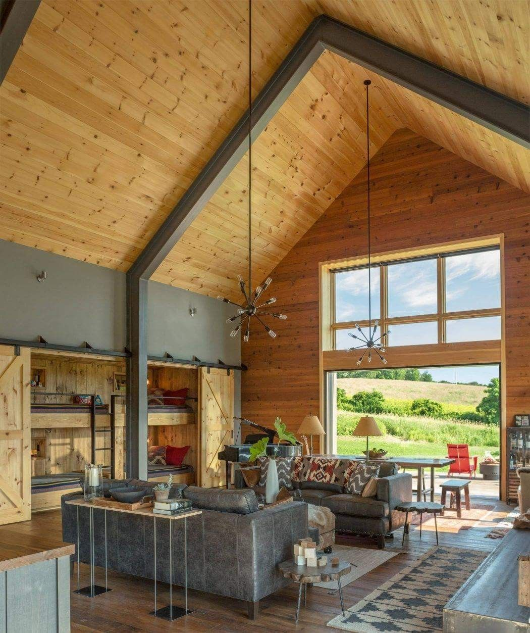Pin Silvia Attwell Rooms Modern Barn House