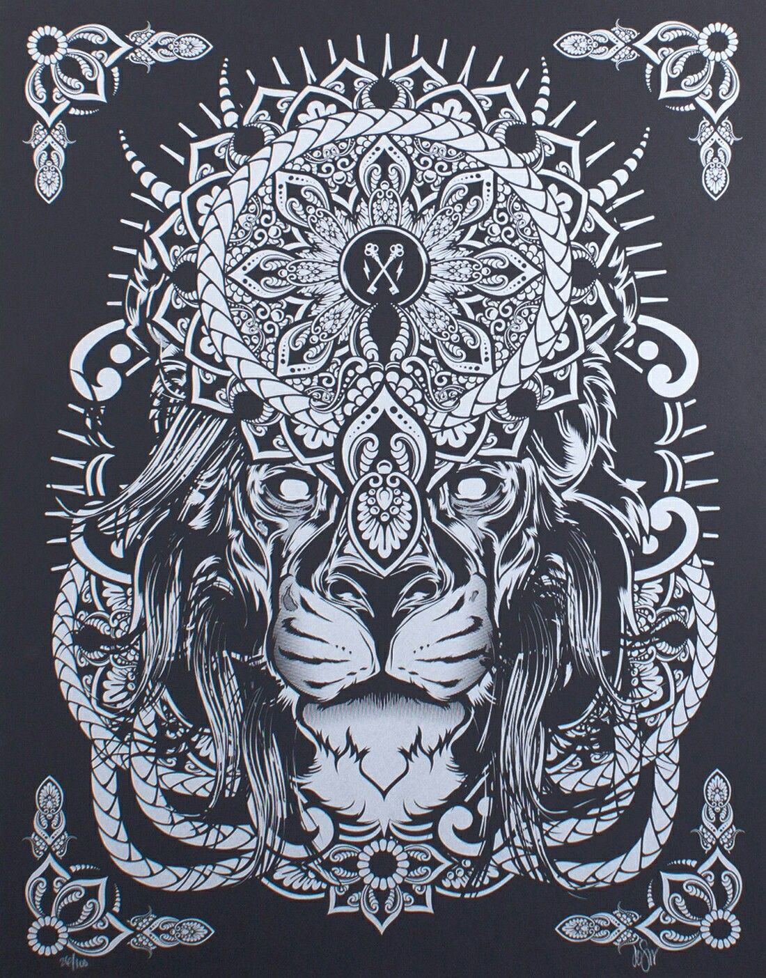 Hydro74 Mandala Lion | Pan | Pinterest