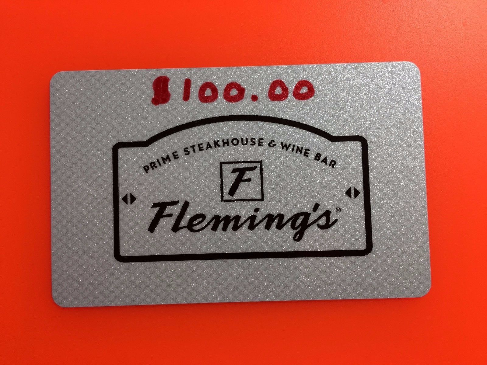 S Giftcards 100 Fleming Steakhouse Outback Bonefish Or Carrabba Gift Card