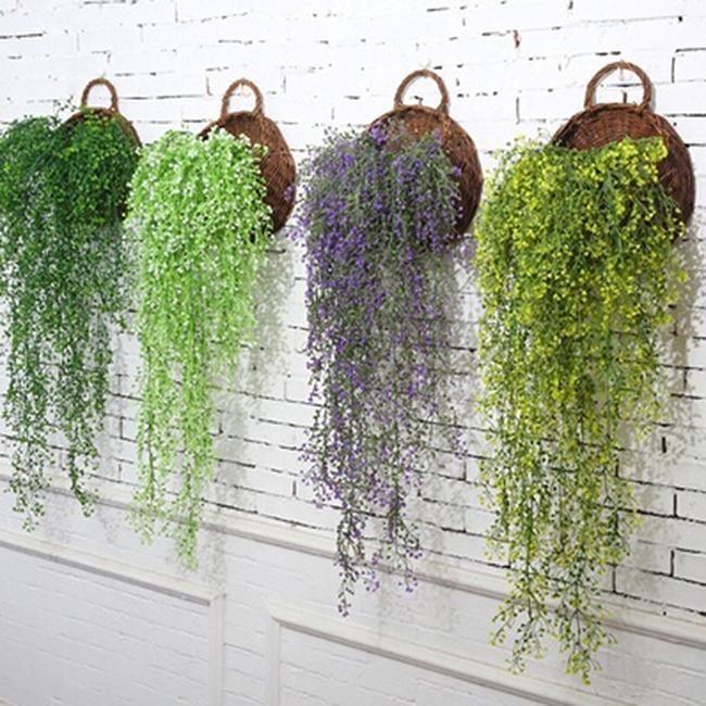 Artificial Hanging Weeping Leaf Garland Plants Vine Fake