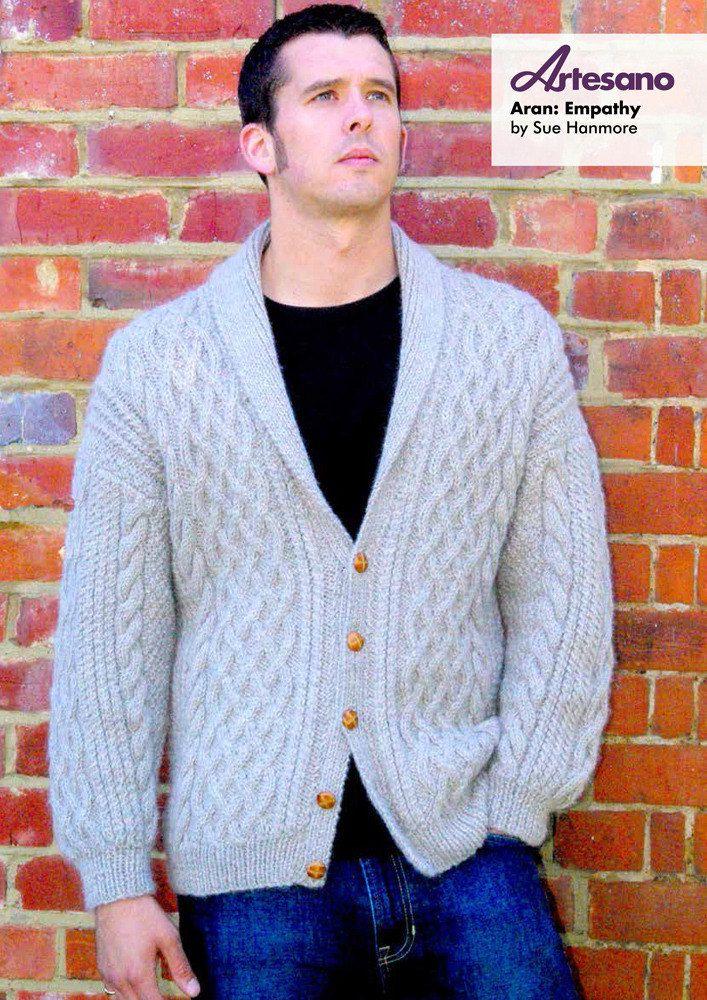 Empathy Jacket in Artesano Aran. Discover more Patterns by Artesano ...