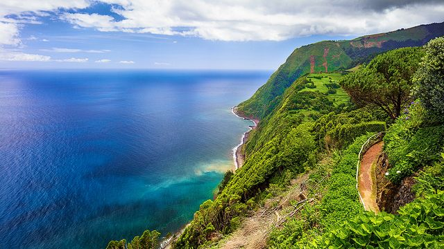 East Coast of São Miguel near Nordeste, Azores, Portugal by Michael Mehl, via Flickr