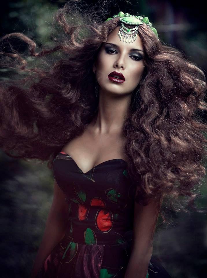 mua Elena Rossiyskaya, model Lisa