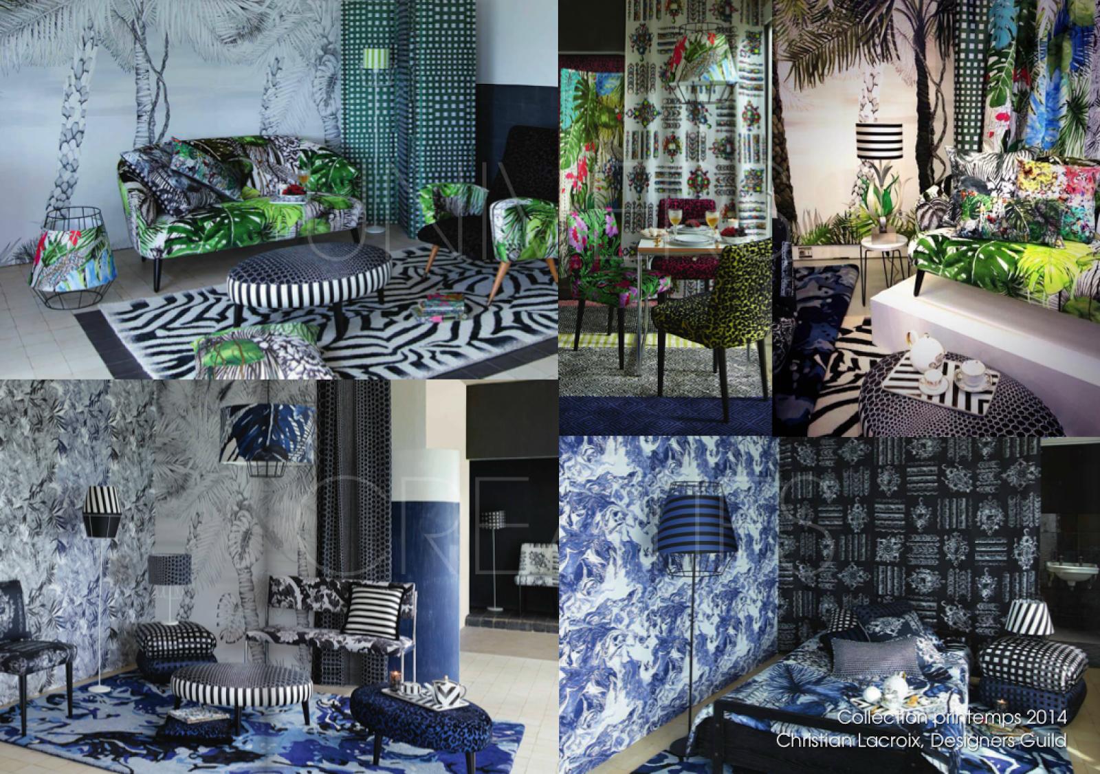 Nouvelle collection Designers Guild, Printemps Eté 2014.