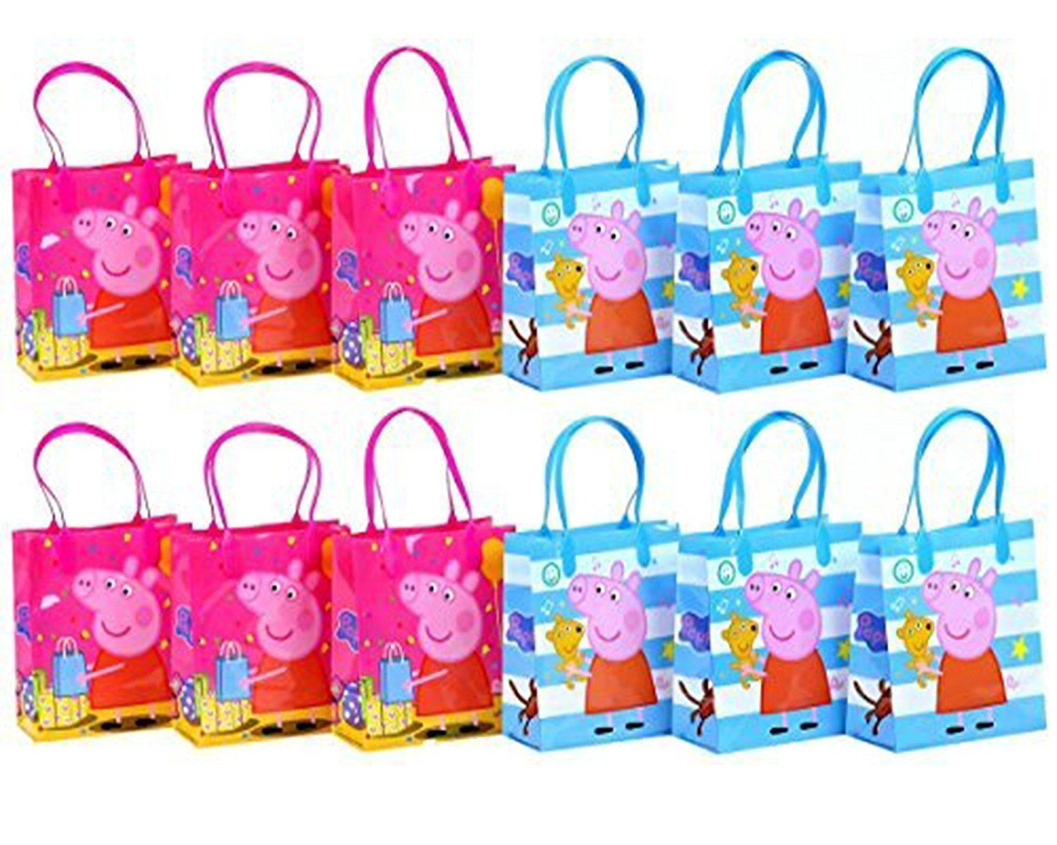 Amazon Peppa Pig Party Favor Goodie Gift Bag