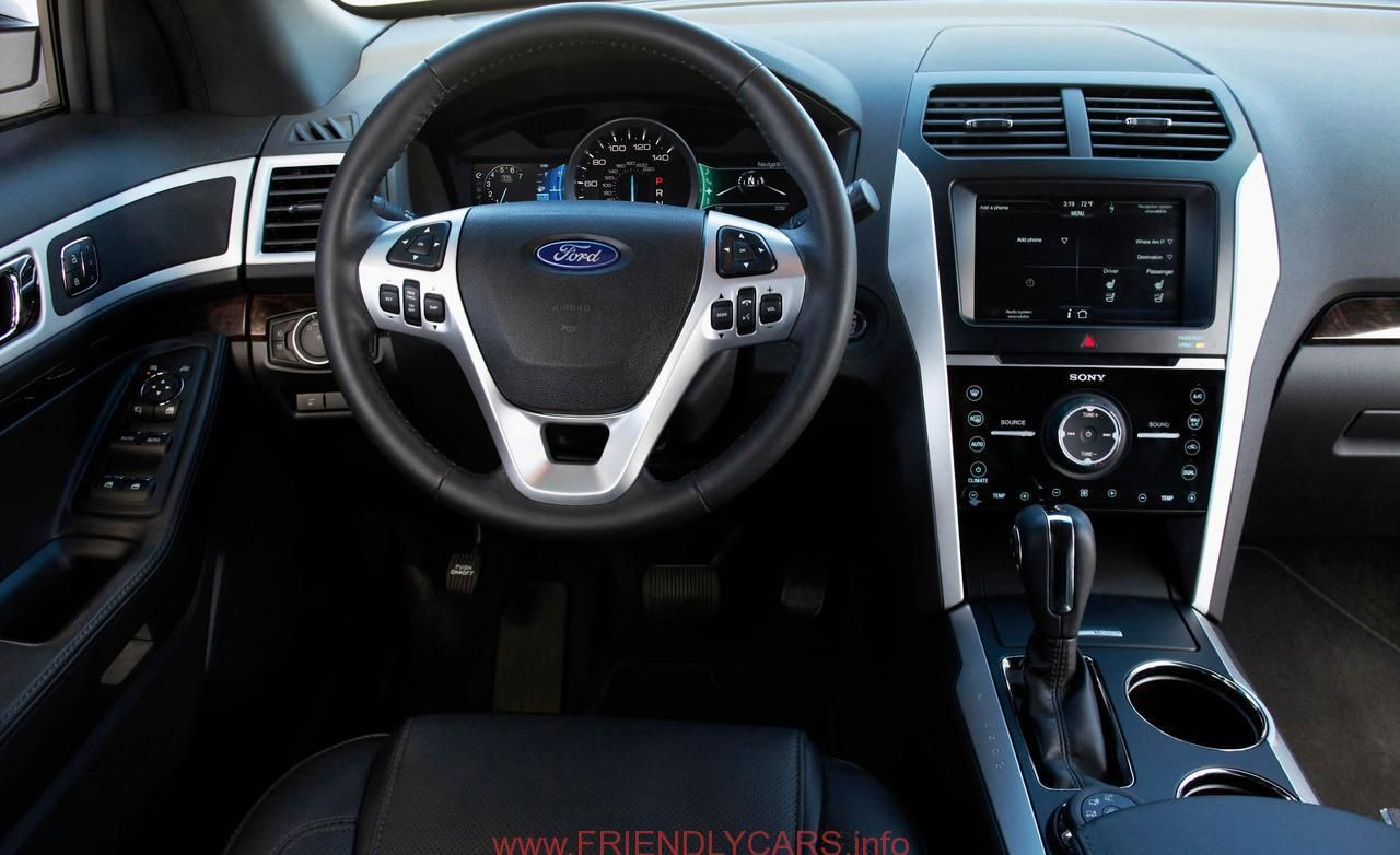 Cool 2012 Ford Explorer Xlt Interior Car Images Hd 2012 Ford