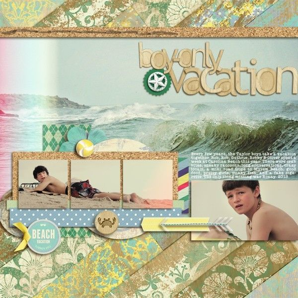 Boys-only Vacation by Shannon Taylor @2peasinabucket