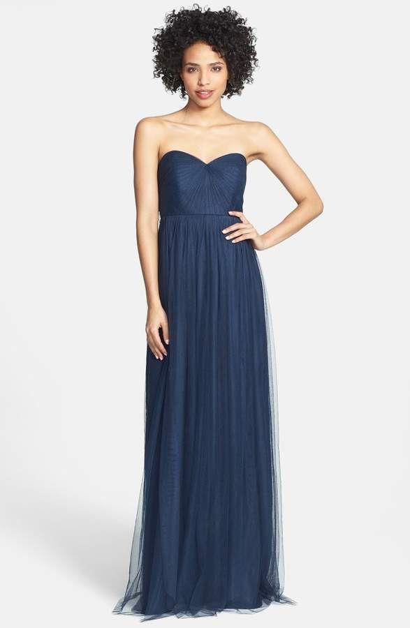 48b27d9cc94 Jenny Yoo Annabelle Convertible Tulle Column Dress