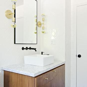 Matte Black Bathroom Faucet Design Decor Photos Pictures Ideas Inspiration Paint Colors And Remodel Sleek Bathroom Modern Bathroom Bathroom Trends