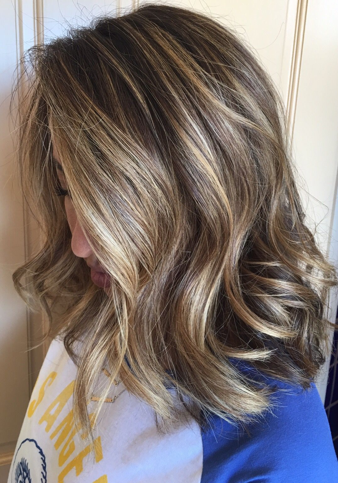 Highlights Blond A Side Of Blonde W Brunette Champagne Highlights Melted