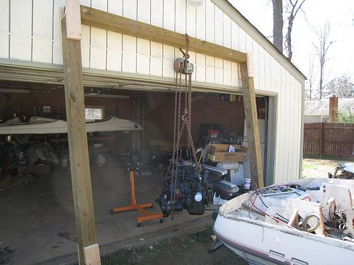 Roofing Hoist Homemade Amp Cool Diy Jeep Hardtop Hoist For