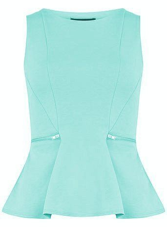 Blouse in Aqua