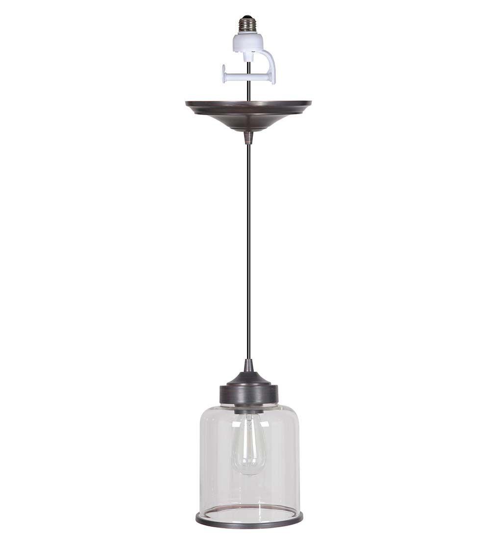 Screw In Cylindrical Pendant Light Kitchen Lighting
