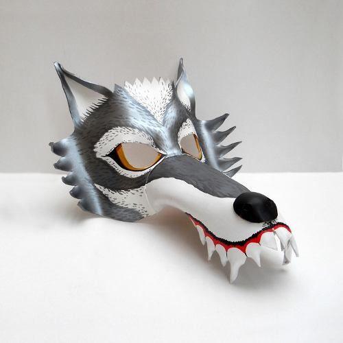Como hacer un disfraz de lobo feroz facil - Imagui
