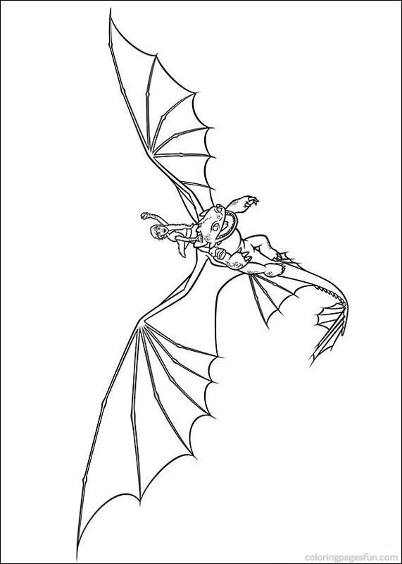 how to train your dragon coloring pages: Hiccup and Toothless   How ...