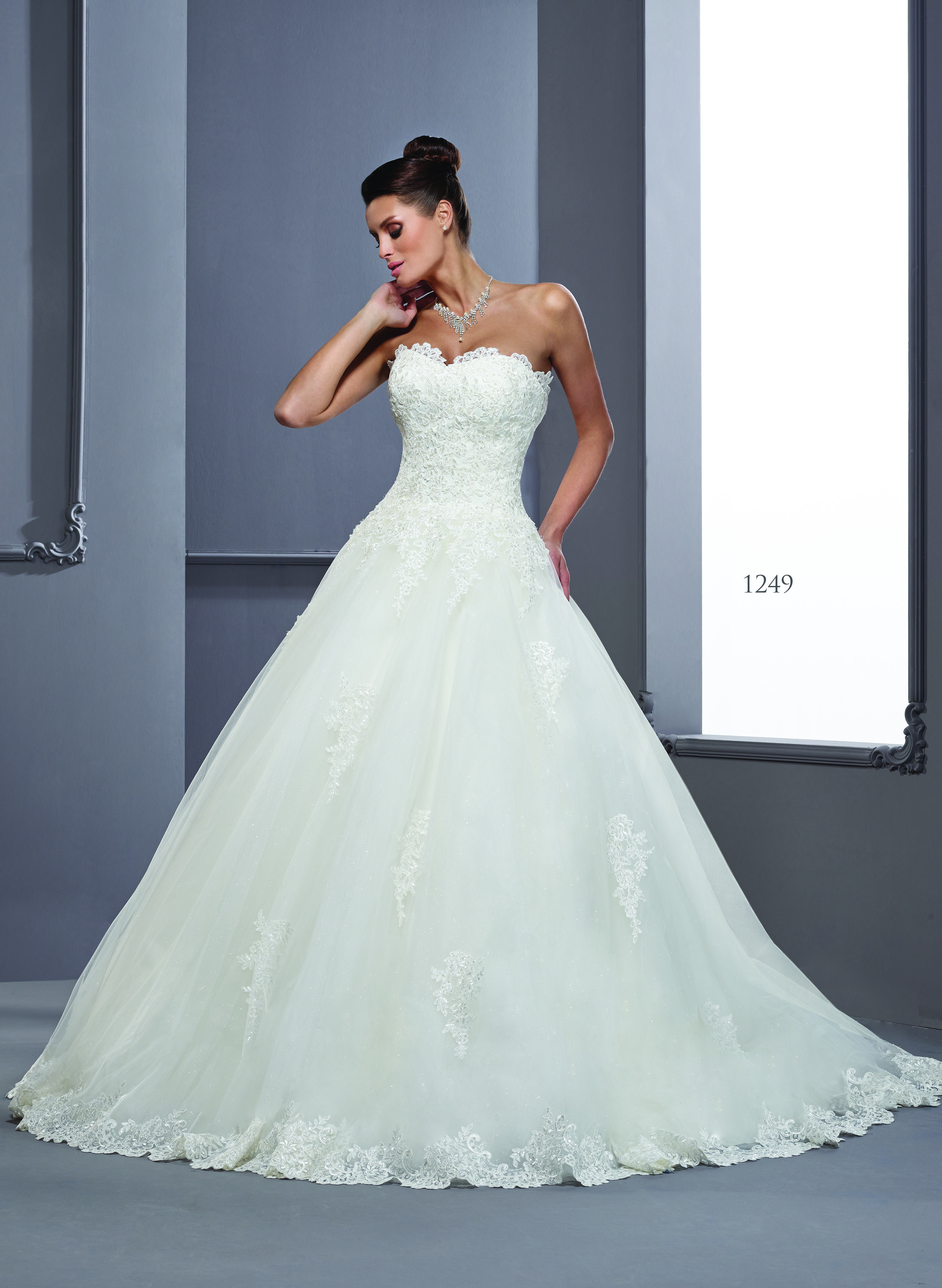 Traditional aline lace wedding gowns darius cordell fashion ltd