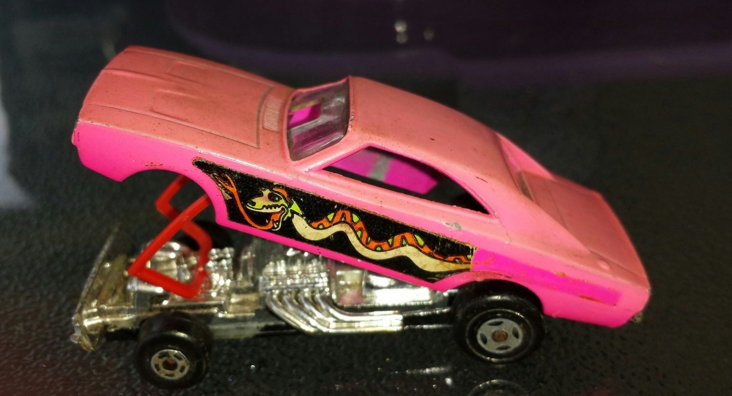 70s Matchbox Superfast Pink Dodge Dragster AVAILABLE At