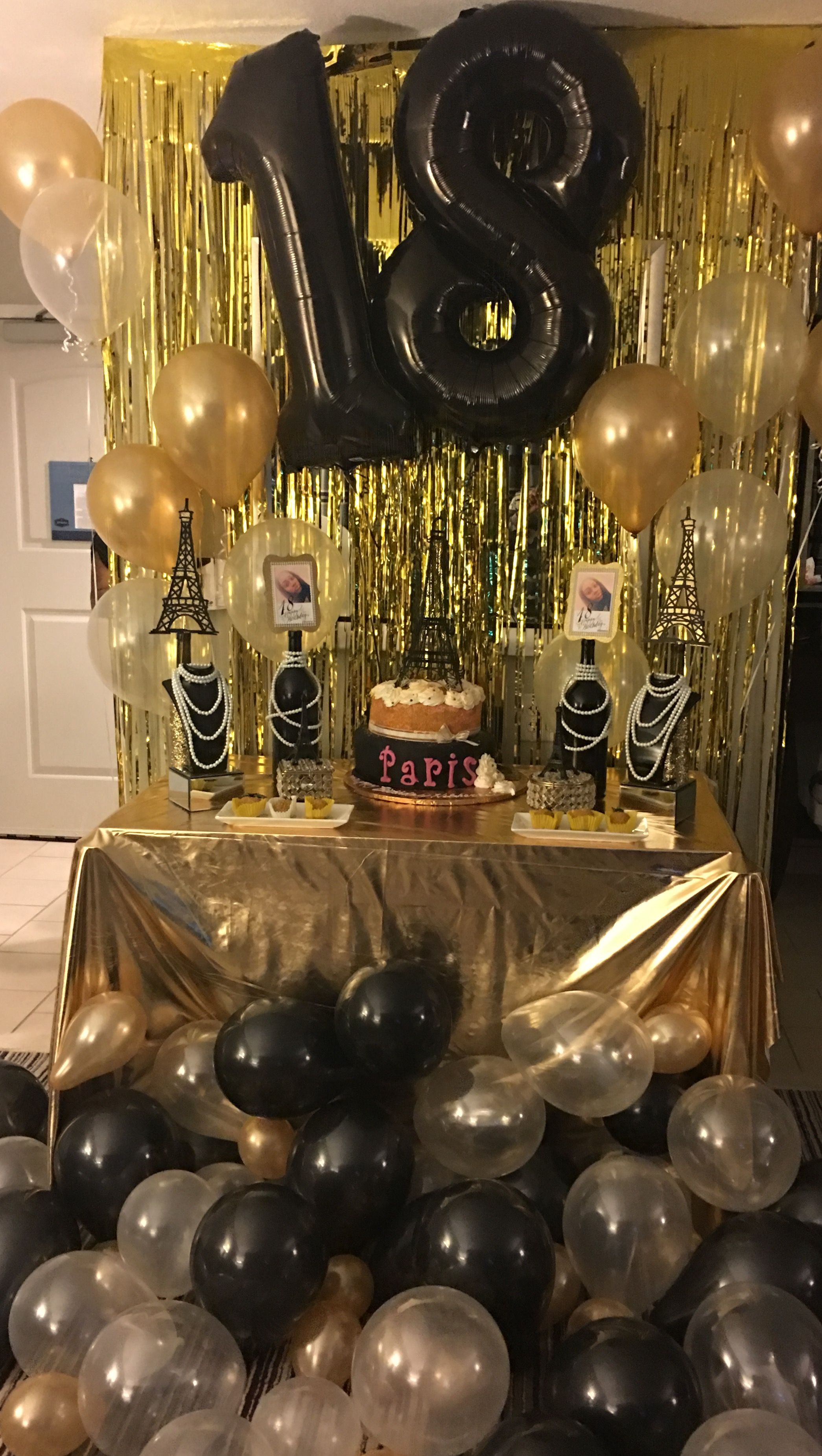 18th Birthday Party Decorations 18 Birthday Party Decorations 18th Birthday Party 18th Birthday Decorations