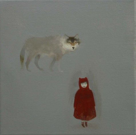 red riding and the wolf