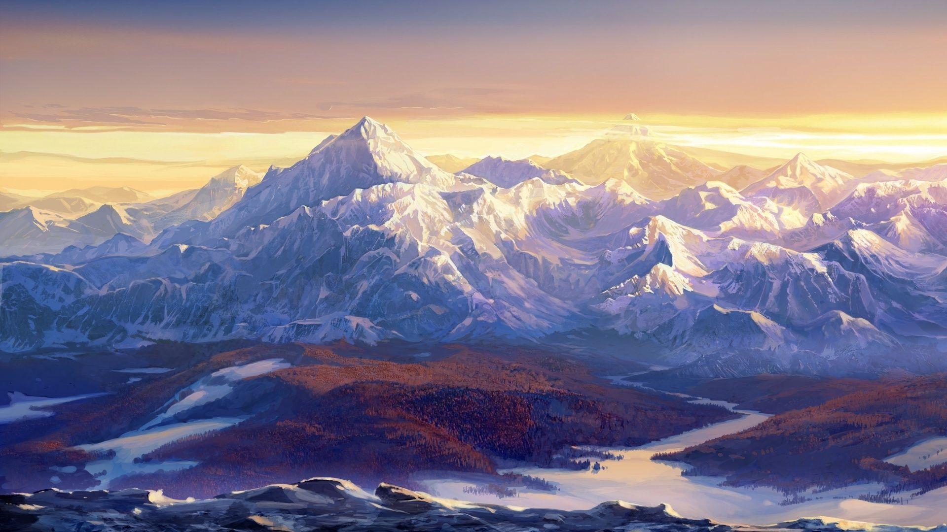 Beautiful Wallpaper Mountain Art - 7ac4c6caa61b39a1fea9897cd7848382  You Should Have_369344.jpg