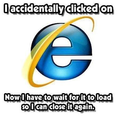 Silly IE.. why can't you conform to standards better!    #internetexplorer