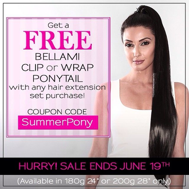 Sweep your hair up in a ponytail bellami style to beat this sweep your hair up in a ponytail bellami style to beat this summers heat pmusecretfo Gallery