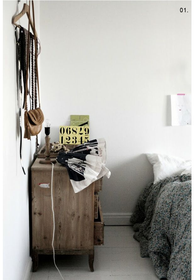 white bedroom via pejper