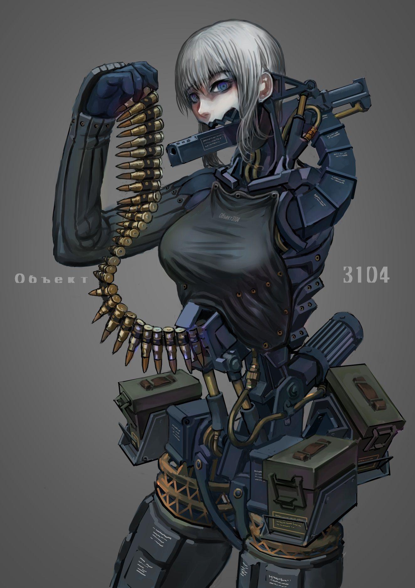 Pin by Roman Orsborn on NINE art, Female robot