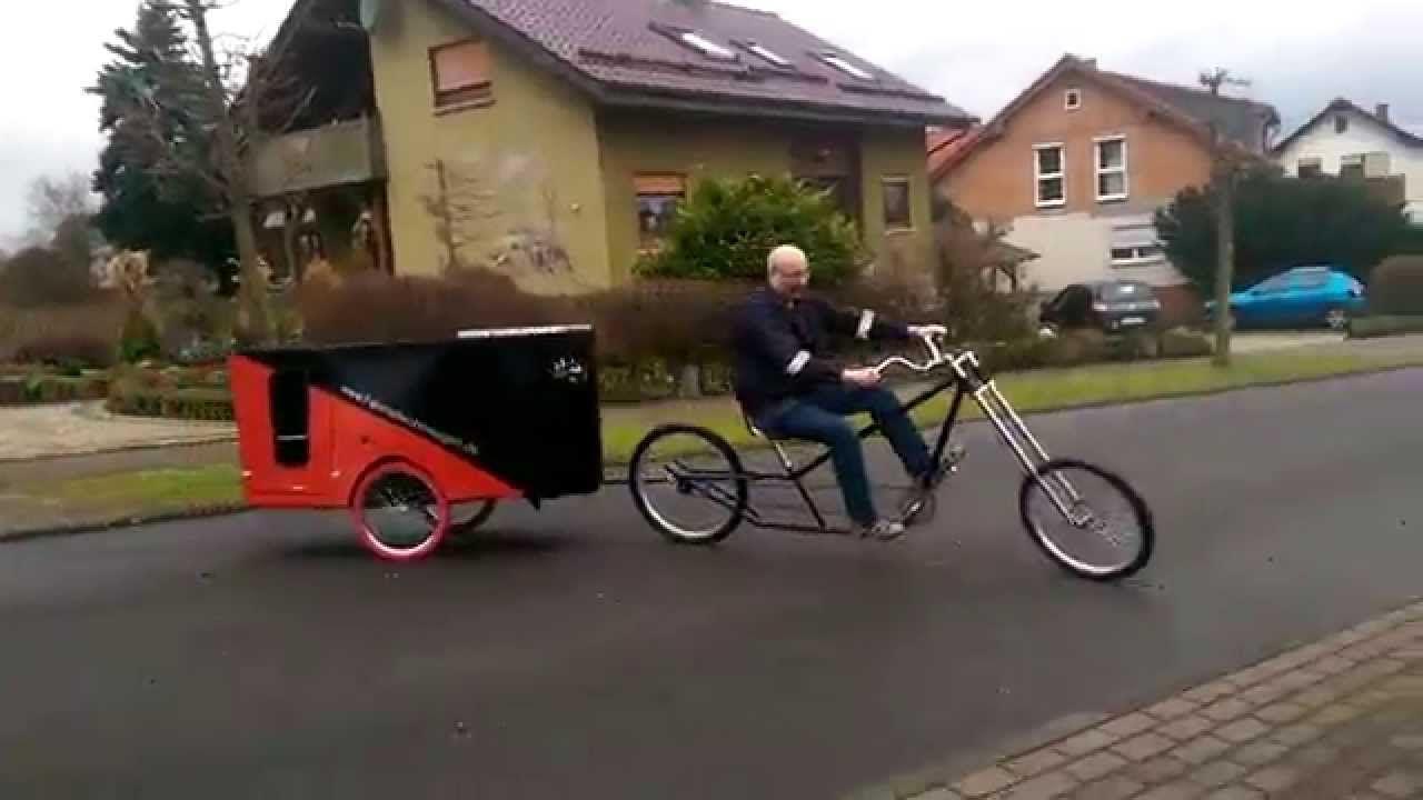 fahrradwohnwagen fahrradanh nger trailer wohnwagen test. Black Bedroom Furniture Sets. Home Design Ideas