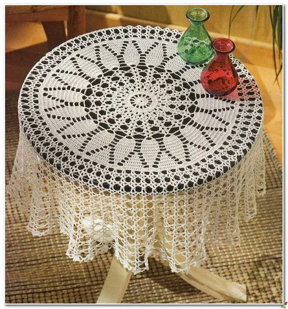 Crochet Doily Crochet Doilies Crochet Tablecloth Home Decor