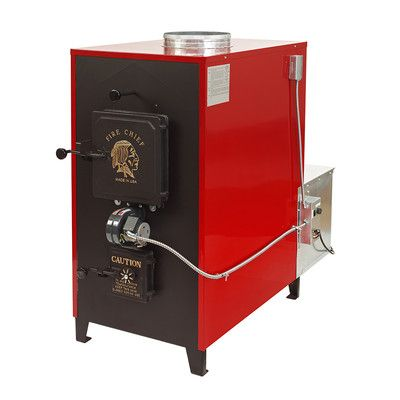 Fire Chief 150 000 Btu Indoor Wood Coal Burning Forced Air Furnace Fc700e Indoor Wood Furnace Forced Air Furnace Coal Burning
