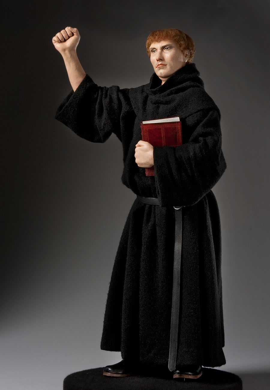 Martin Luther, by George Stuart.
