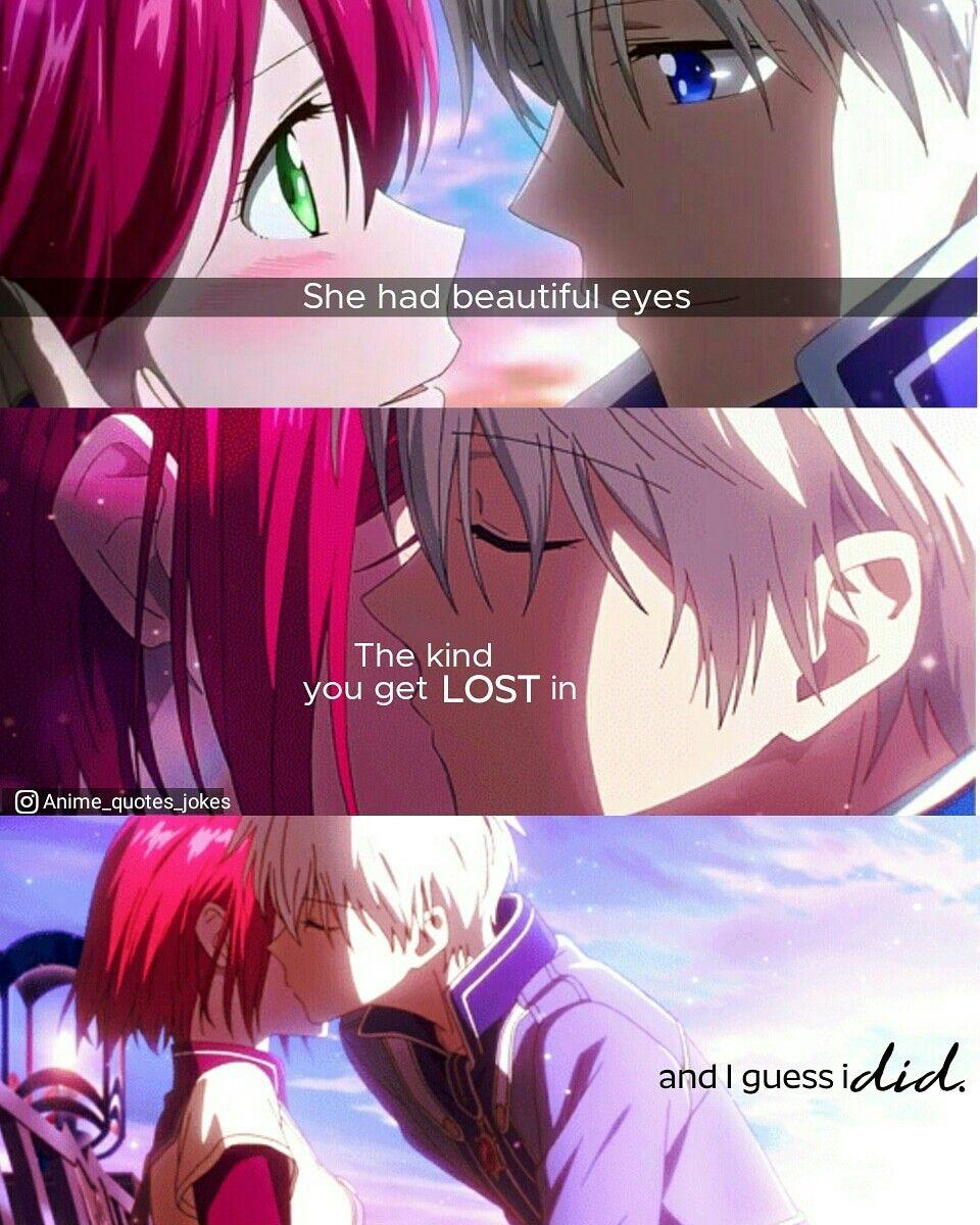 Akagami No Shyrikhihime Snow White With Red Hair Zen Anime Quotes Animequotes Anime Anime Anime Quotes Anime Quotes Inspirational