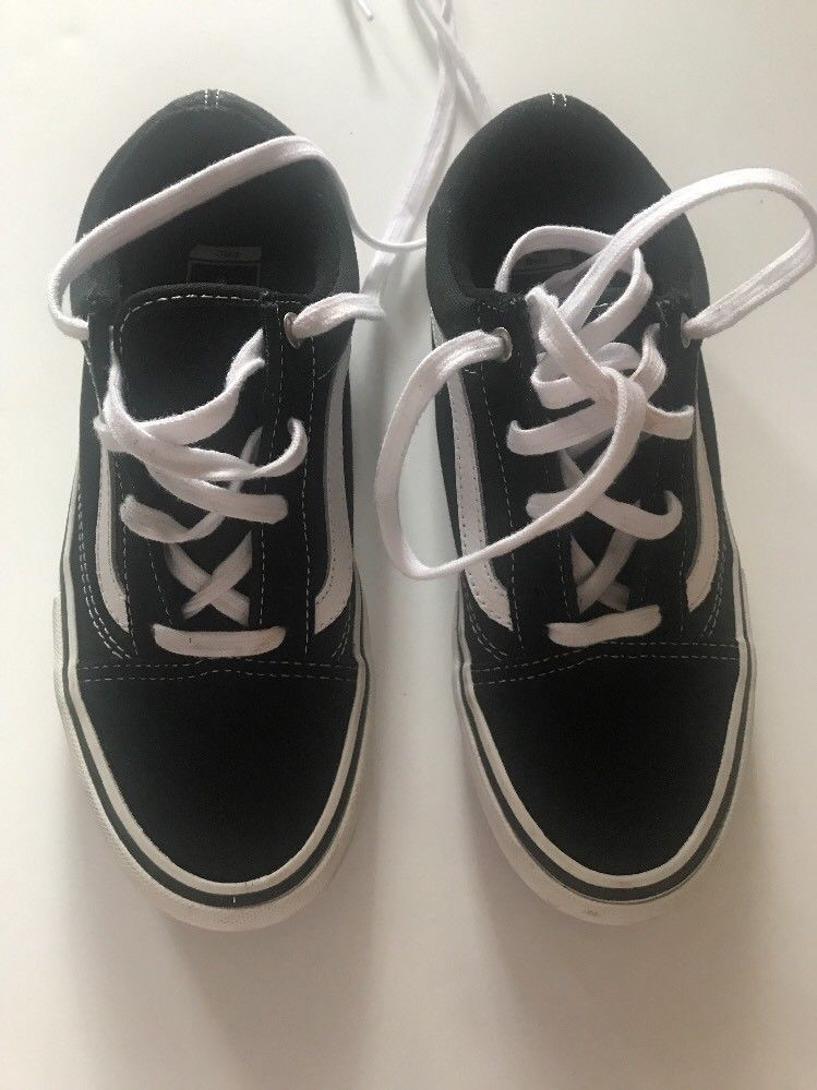 58f3317c75ef Vans Low Suede Leather Ultra Cush White And Black Skate Shoe Womens Size 8   fashion  clothing  shoes  accessories  mensshoes  athleticshoes (ebay link)