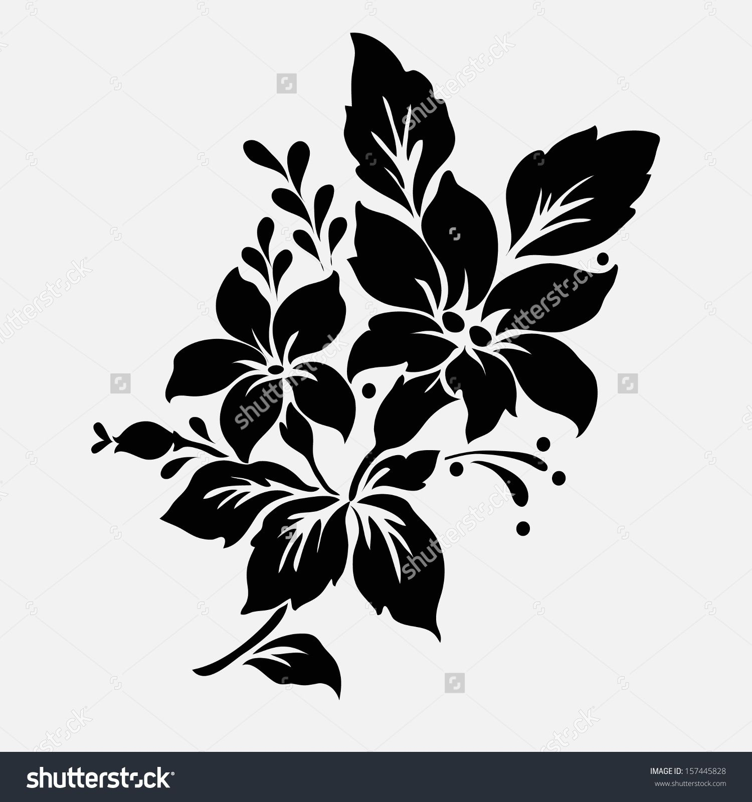 Line Art Flower Stencil Designs : Image result for flower vector pinterest