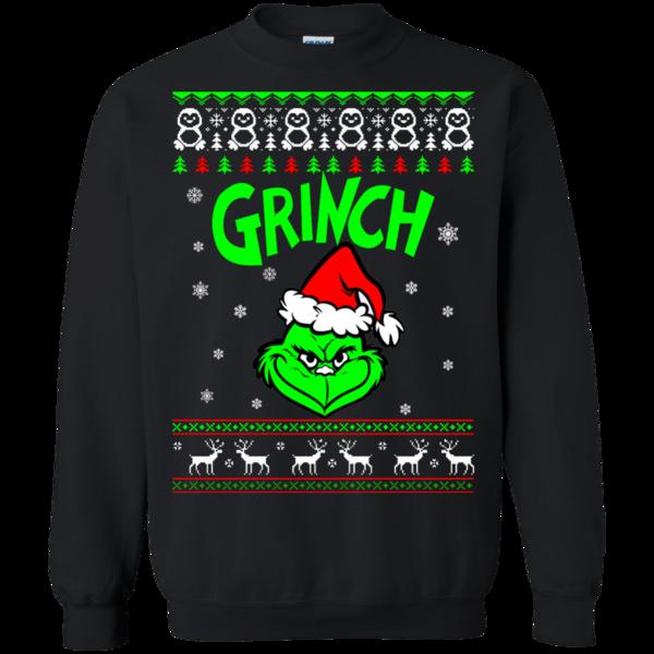 Grinch Christmas Ugly Sweater Xmas Men Women Sweatshirt Pullover Hoodie Top