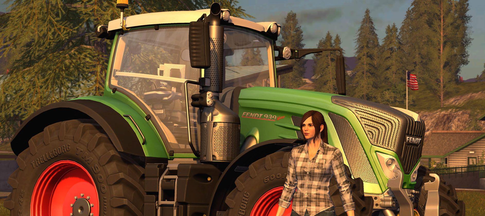 Farming Simulator 17 le bonheur est dans le pré avec un