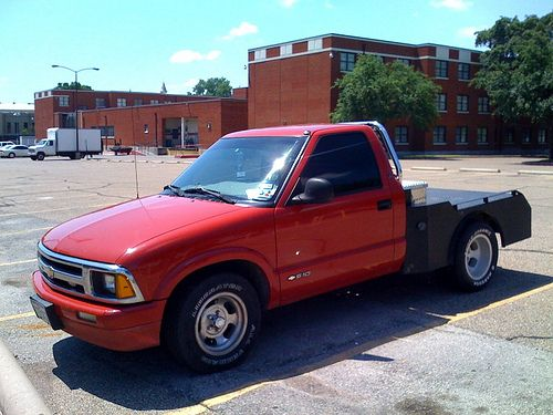 S10 Extended Cab Flatbed Google Search Dream Cars