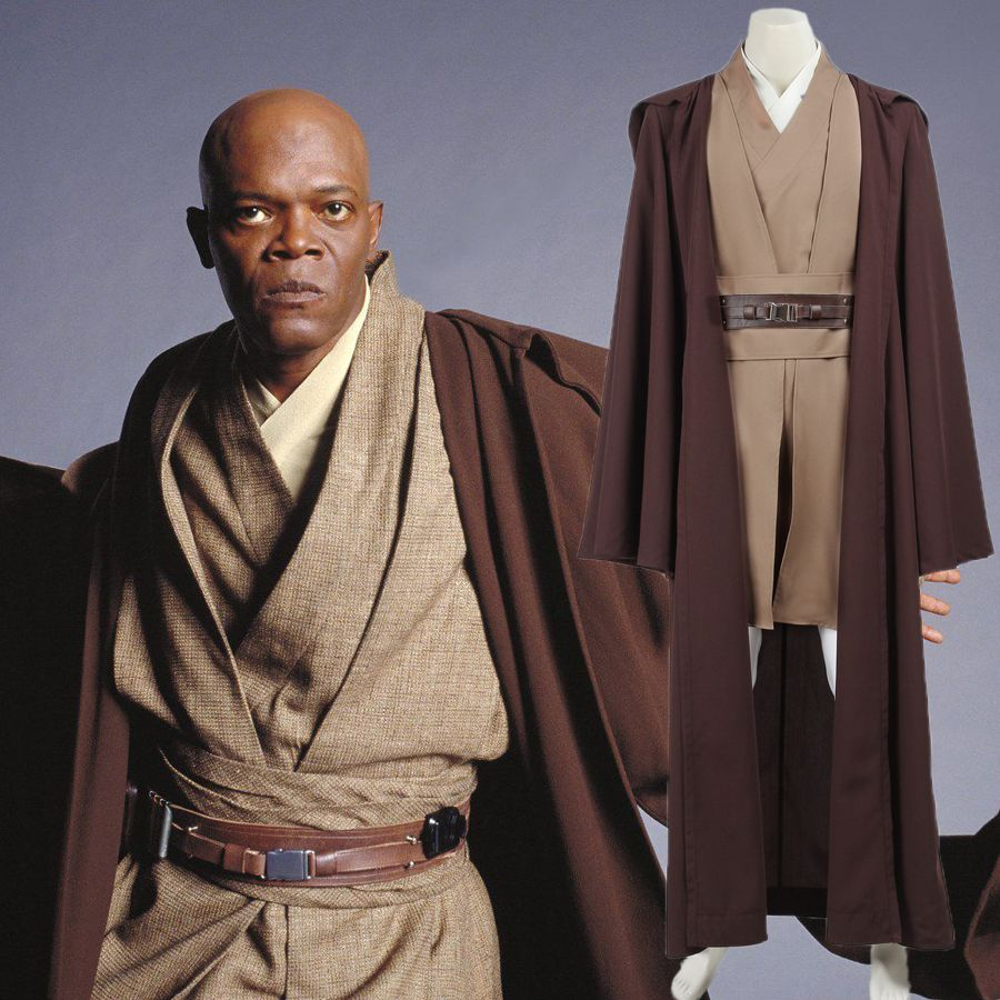 Sith Lord Halloween Custom Star Wars Tunic Costume Jedi Knight Outfit adult men