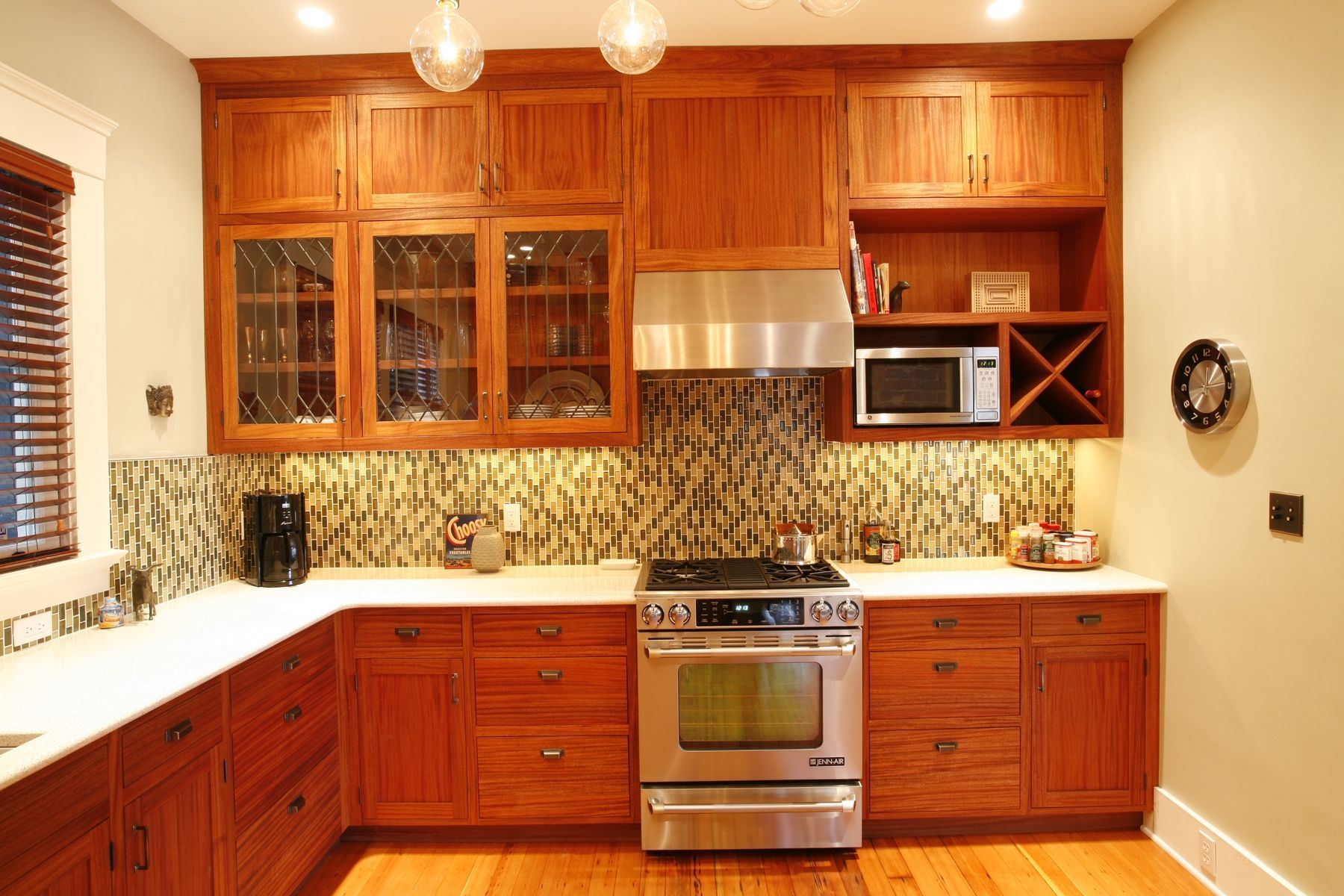 Recessed Panel Door African Mahogany Kitchen Cabinets With Flat Face  Drawers. | Mahogany Or Teak Kitchen Cabinets | Pinterest | Teak, Drawers  And Kitchens