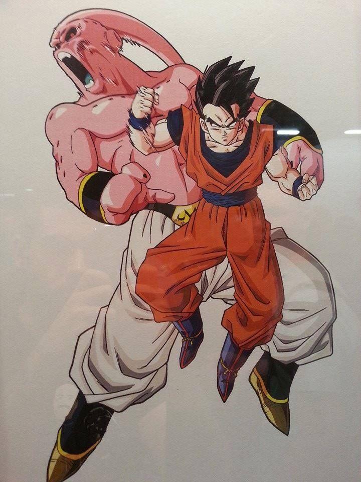 Gohan Vs Super Buu Dragon Ball Z ♡ Pinterest Dragon