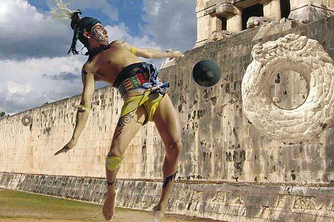 Juego de Pelota en Chichén Itzá