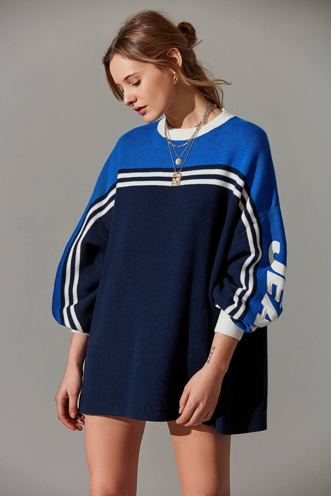 1f7151406c5 Tommy Jeans Oversized Racing Sweater in 2019