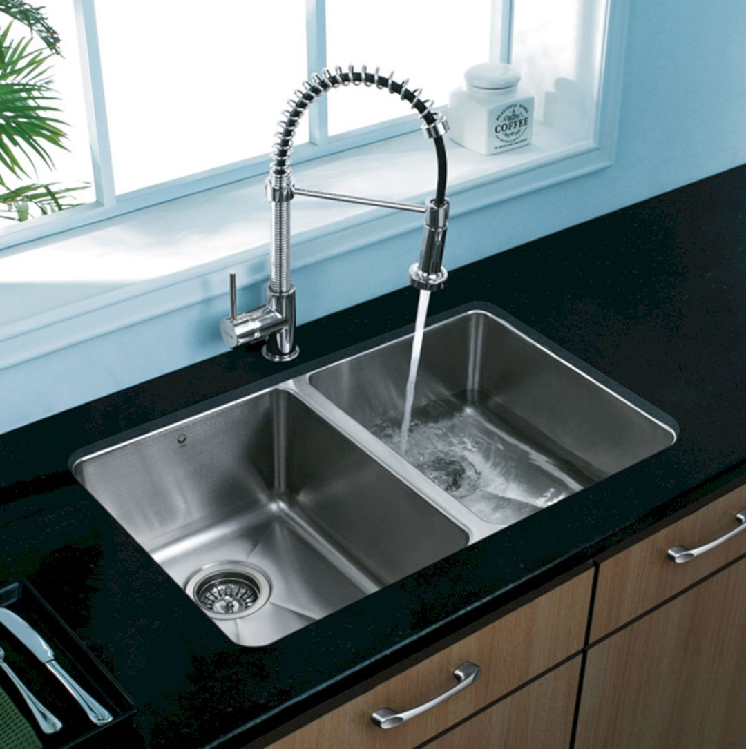 35+ Top Stainless Steel Kitchen Sinks Design Ideas You Need To Have ...