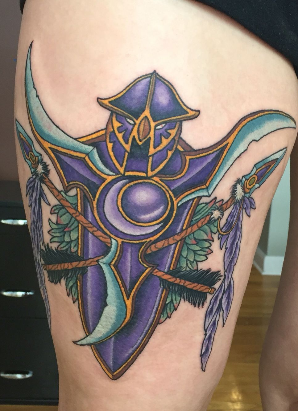 Wow Druid Tattoo Dota 2 Girls