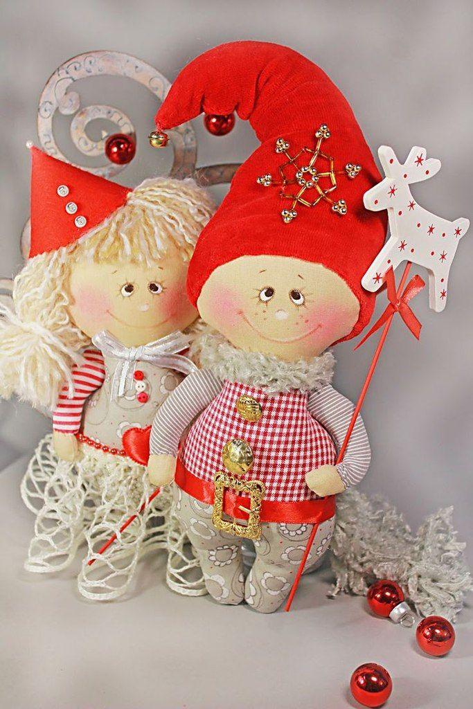 Pin de hatice lker en cloth doll pinterest navidad for Gnomos navidenos