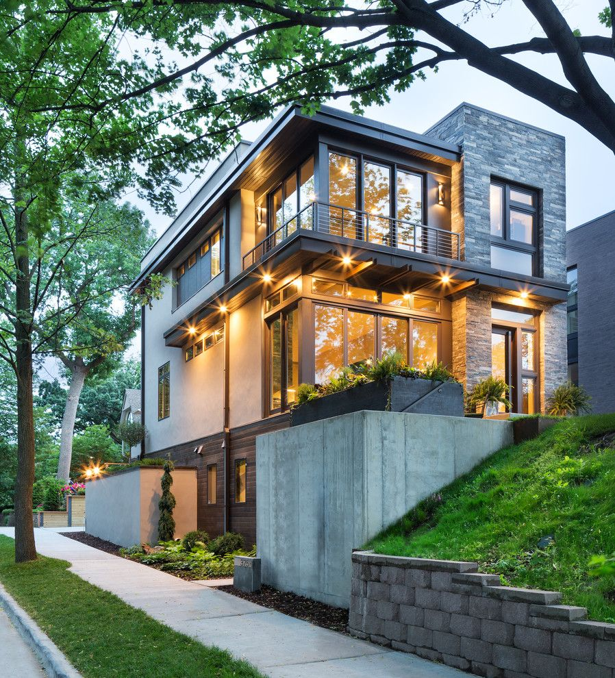 Modern Organic Home By John Kraemer Sons In Minneapolis Usa House Architecture Design House Designs Exterior House Exterior